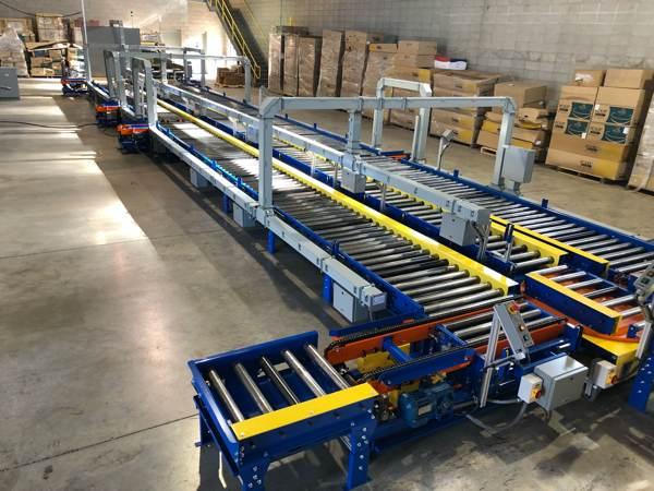 Custom test cell conveyor