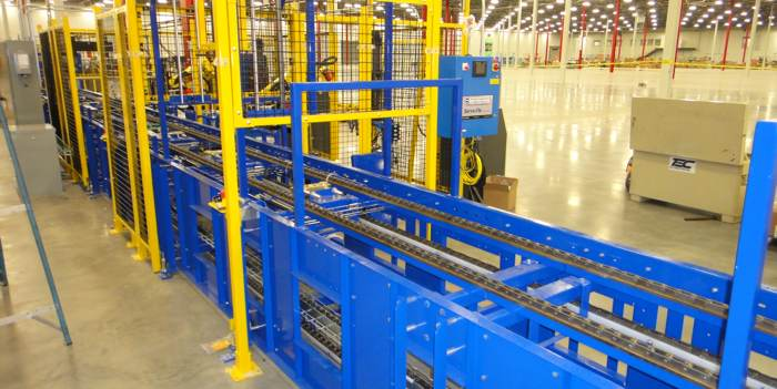 Chain driven conveyor system