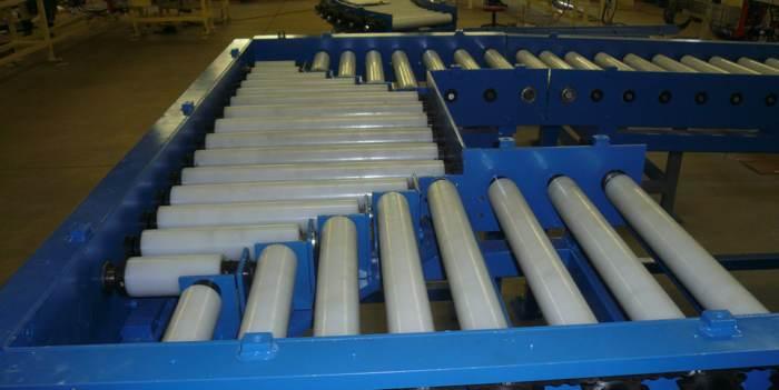 Powered roller medium duty conveyor
