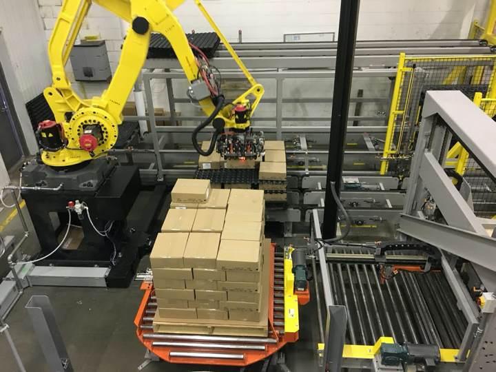 Tool Design - Pallet, freezer sheets, and case handling tool
