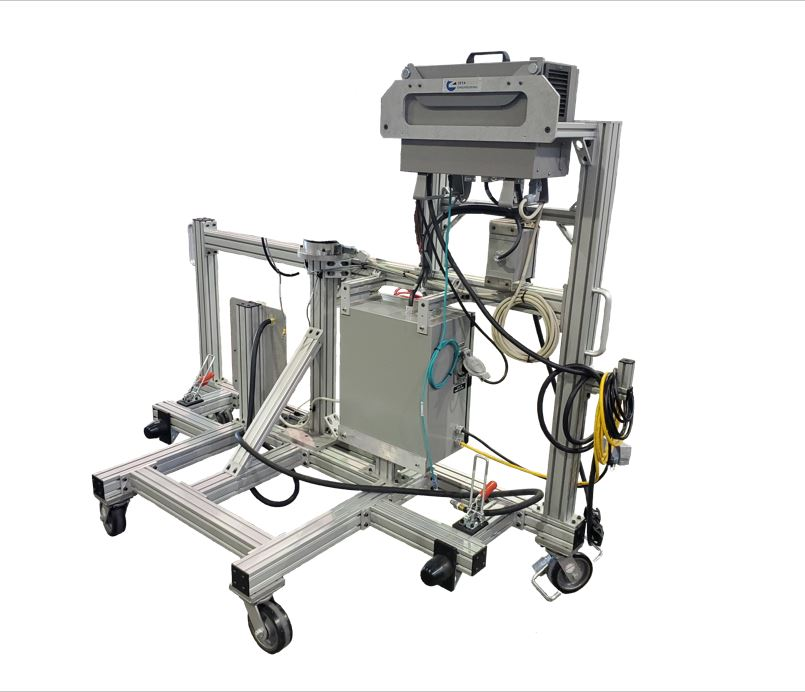 Mobile robot cart