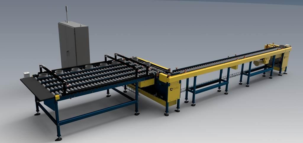 Rendering of a PRM conveyor