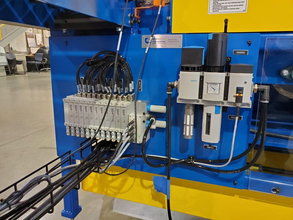 Festo I/O system installed on PRM conveyor