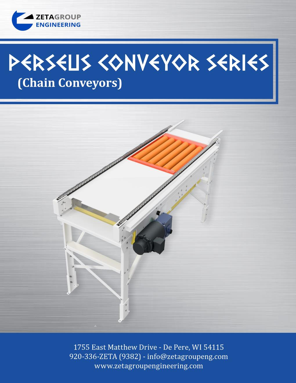 Chain Conveyor Brochure - Perseus Series