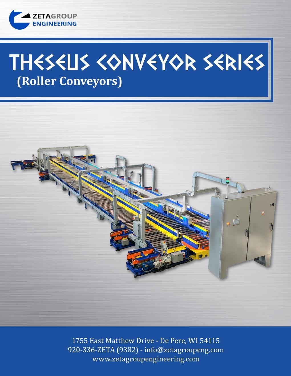 Roller Conveyor Brochure - Theseus Series
