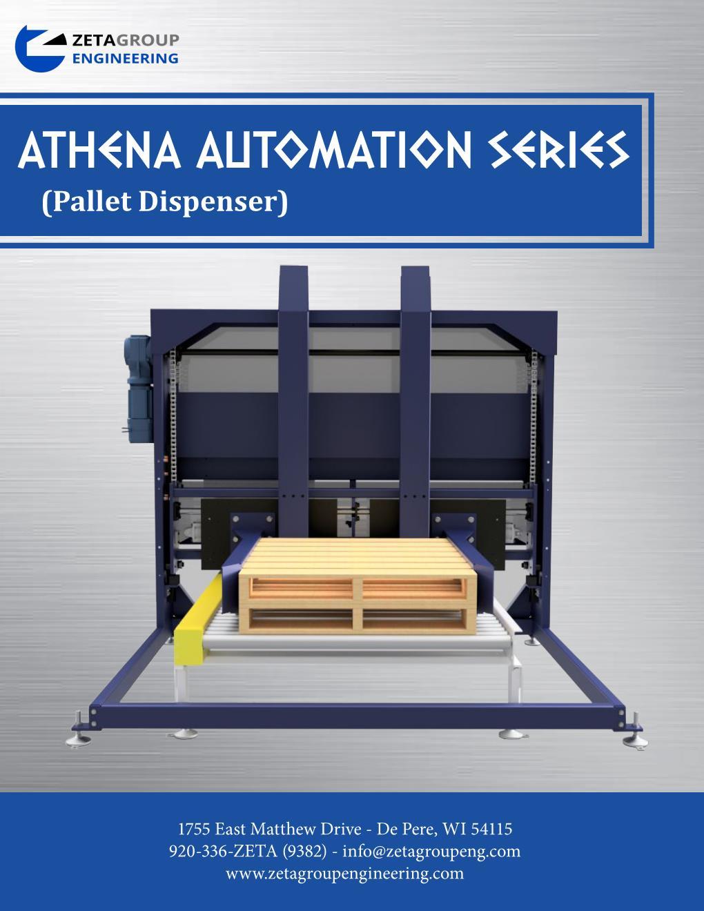 Pallet Dispenser - Athena Series Brochure