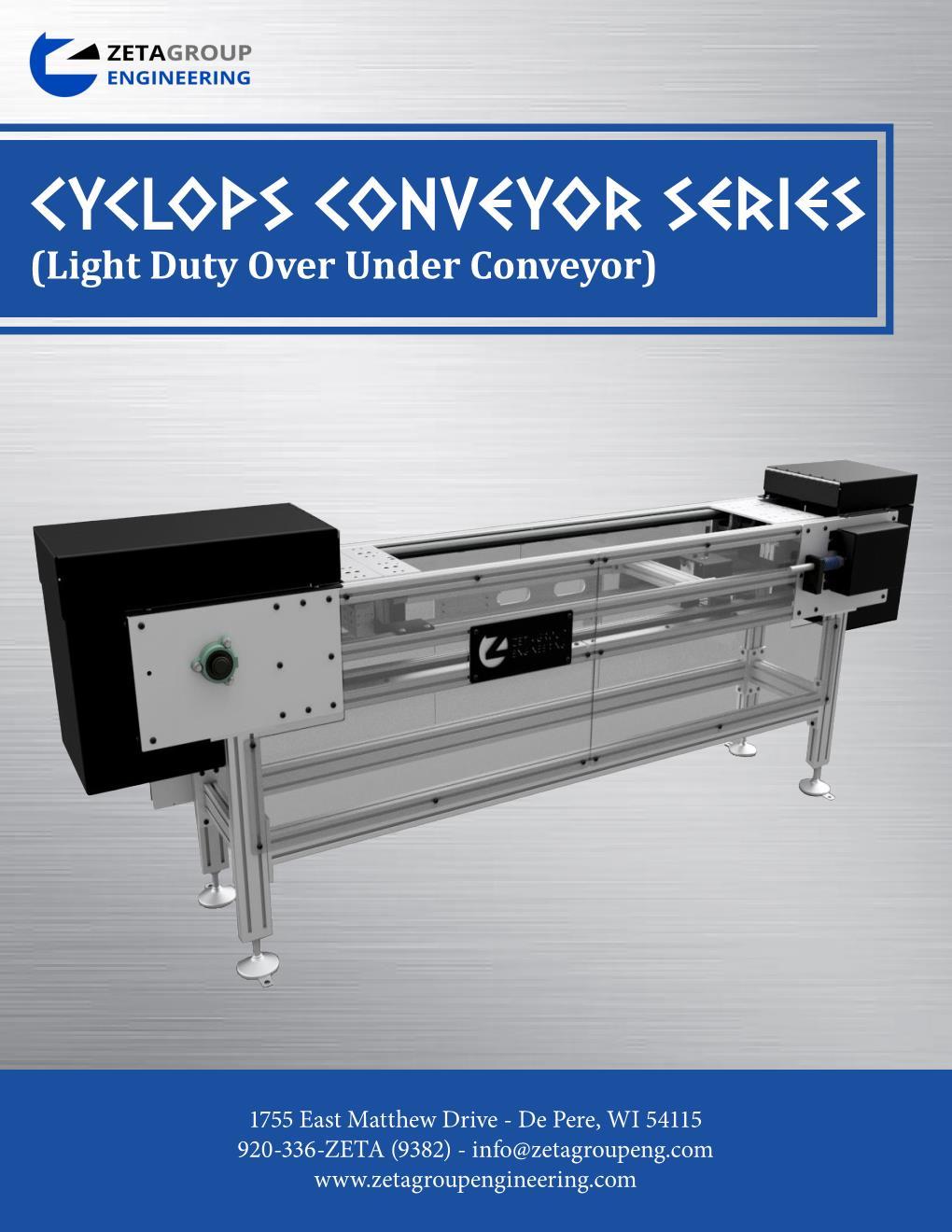Light Duty Over Under brochure - Cyclops Series
